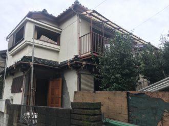 西東京市向台町の解体工事を行いました。