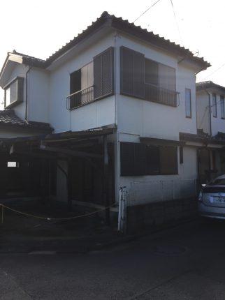 鶴ヶ島市脚折の解体工事を行いました。