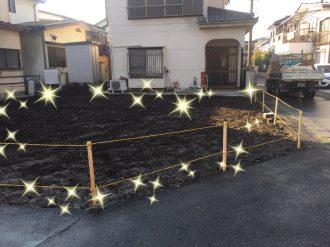 草加市金明町の解体工事を行いました。