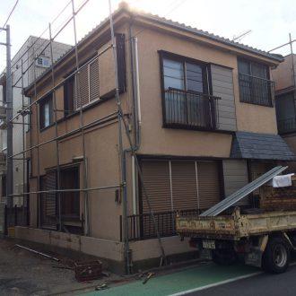 川崎市幸区小倉の解体工事を行いました。