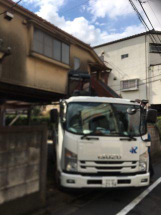 江戸川区南小岩の解体工事を行いました。