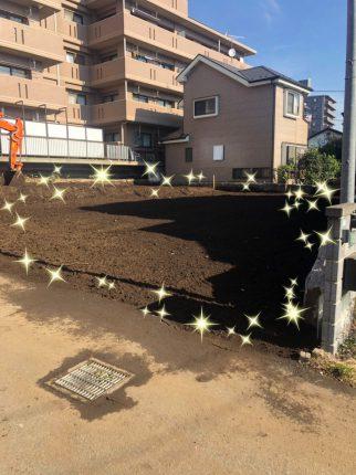 所沢市有楽町の解体工事を行いました。
