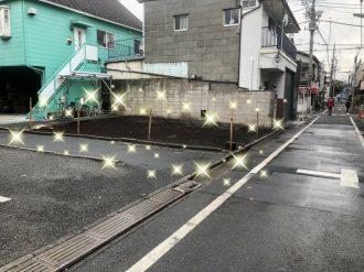 品川区豊町の解体工事を行いました。