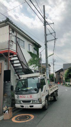 世田谷区松原の解体工事を行いました。