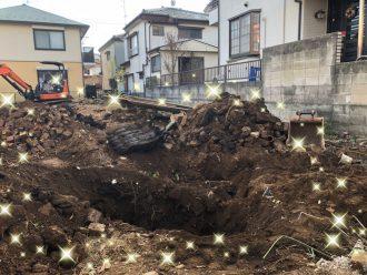 川口市芝中田の解体工事を行いました。