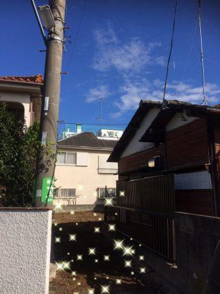 稲城町押立の解体工事を行いました。