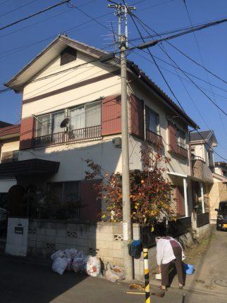 ふじみ野市上福岡の解体工事を行いました。