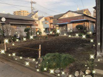 国立市富士見台 解体工事を行いました。