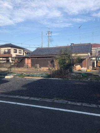 坂戸市元町 解体工事を行いました。