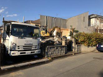 東村山市恩多町 解体工事を行いました。