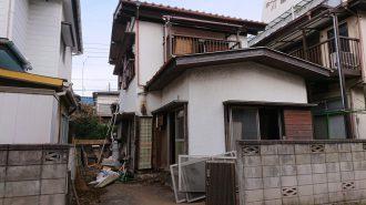 川越市中台 解体工事を行いました。