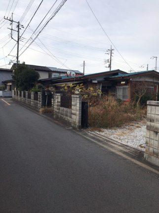 狭山市広瀬東 解体工事を行いました。