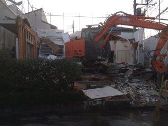 春日部市豊町 解体工事を行いました。