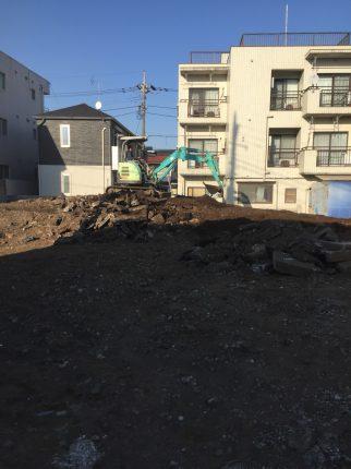 練馬区富士見台 解体工事を行いました。