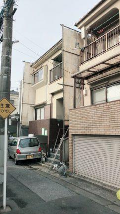 江戸川区本一色 解体工事を行いました。