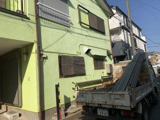 狭山市北入曽 解体工事を行いました。