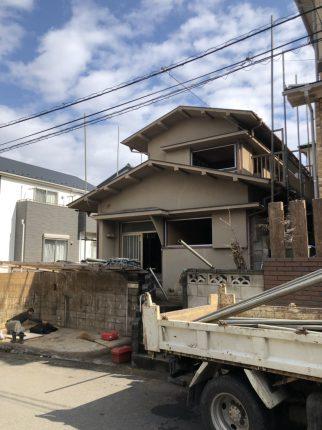 八千代市大和田新町の解体工事を行いました。