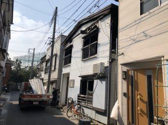 富士見市水谷東の解体工事を行いました。