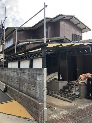 ふじみ野市西鶴ケ岡の解体工事を行いました。