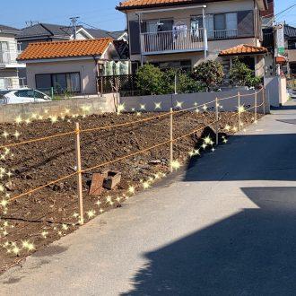草加市谷塚町の解体工事を行いました。