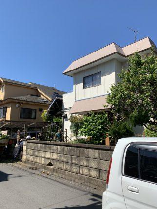 武蔵村山市三ツ藤 解体工事を行いました。