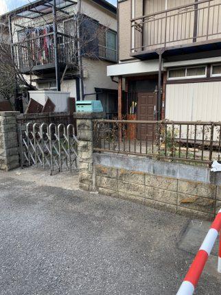 東村山市富士見の解体工事を行いました。