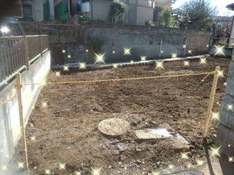 川口市桜町 解体工事を行いました。