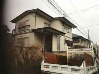 船橋市三山の解体工事を行いました。