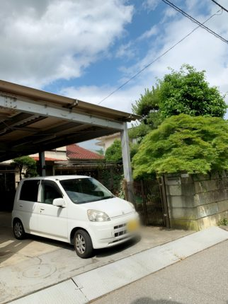 千葉市稲毛区天台の解体工事を行いました。