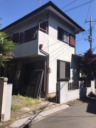 久喜市上町の解体工事を行いました。