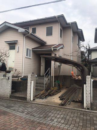 川越市伊勢原町の解体工事を行いました。