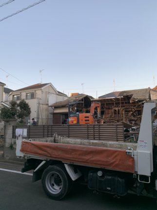 川口市南鳩ヶ谷 解体工事を行いました。