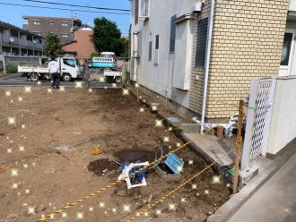 練馬区南大泉 解体工事を行いました。