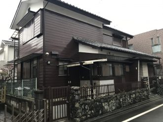 昭島市郷地の解体工事を行いました。