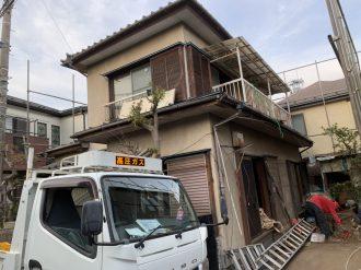 川口市安行吉岡の解体工事を行いました。