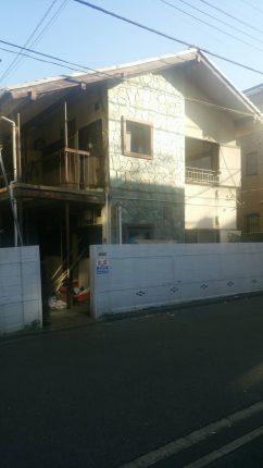 中野区中央 解体工事を行いました。