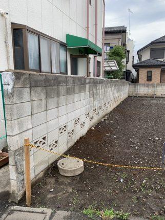 調布市菊野台の解体工事を行いました。