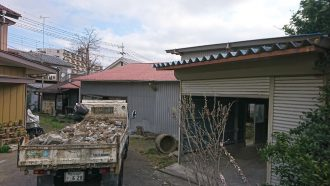川越市小仙波町の解体工事を行いました。