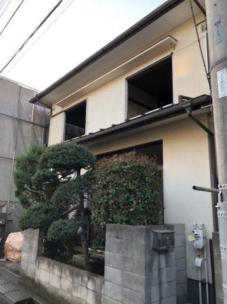 所沢市東所沢の解体工事を行いました。