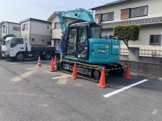 久喜市久喜東の解体工事を行いました。