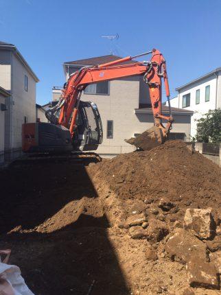 草加市瀬崎の解体工事を行いました。