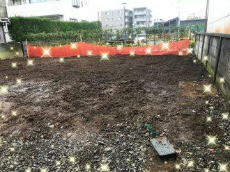 練馬区大泉学園町 浄化槽撤去、井戸埋め戻し工事を行いました。