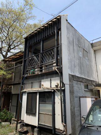 鶴ヶ島市脚折町の解体工事を行いました。