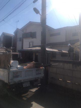 小平市大沼町の解体工事を行いました。