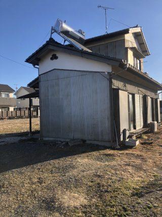 川越市上寺山 解体工事を行いました。
