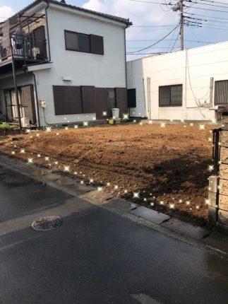 草加市新里町の解体工事を行いました。