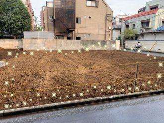 豊島区目白の解体工事を行いました。