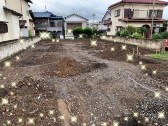 川越市砂の解体工事を行いました。