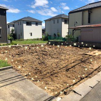 市川市真間の解体工事を行いました。