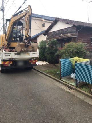 所沢市上安松の解体工事を行いました。